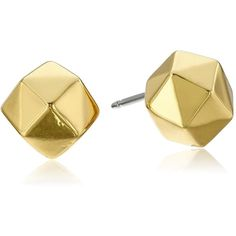 "Trina Turk ""Basics"" Faceted Ball Stud Earrings ($38) ❤ liked on Polyvore featuring jewelry, earrings, trina turk, stud earrings, trina turk earrings, earring jewelry and facet jewelry"