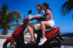 At Rarotonga Airport Car Hire we rent scooter to explore Rarotonga on your own! Our collection of automatic rental scooters are easy to ride and cheap to rent.
