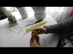 Hilfsmittel / Quilling zum Rollen von Schnecken - YouTube
