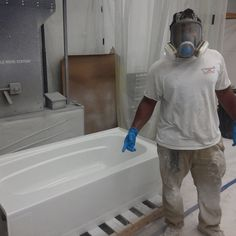 Lafayette Bathtub Resurfacing is easy to maintain and clean. That's because the company who does the resurfacing for you will seal the bathtub to give it a great finish. Unlike old surfaces, freshly sealed surfaces of a new bathtub are very easy to clean: just wipe down with a soft sponge and some hot, soapy water. A great advantage to resurfacing is that mold or mildew can't grow on it; which was not the case with bathtubs of old.