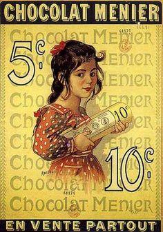 1910 ROEDEL Chocolat Menier