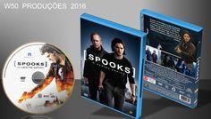Spooks - O Mestre Espião - DVD 2 - ➨ Vitrine - Galeria De Capas - MundoNet   Capas & Labels Customizados