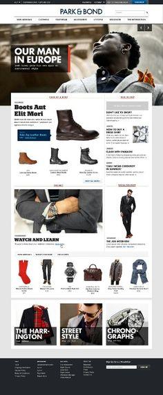 #Clean #classy #webdesign for e-store 83oranges.com