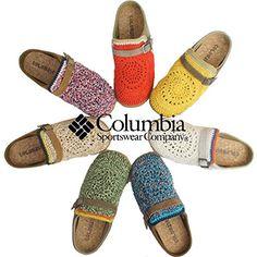 Columbia CHADWICK SUMMER crochet shoes