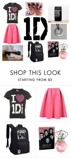 """Directioner's Dream"" by pinkpoppet ❤ liked on Polyvore featuring Converse"