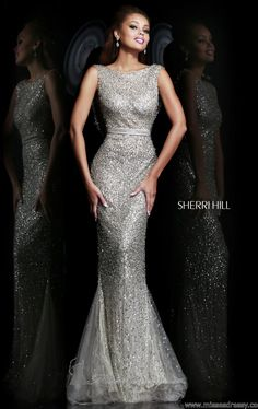 Sherri Hill 4802        Nana, this is it from the front, which even Daddy loved! Wow! Haha