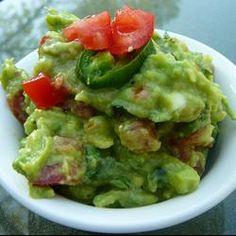 Traditional Mexican Guacamole Allrecipes.com