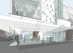 Arthouse at the Jones Center / LTL Architects / Rendering