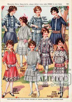 Catalog: Perry Dame & Co. Edwardian Dress, Edwardian Fashion, Vintage Fashion, Victorian Children's Clothing, Vintage Outfits, Patron Vintage, Kids Fashion, Fashion Outfits, 20th Century Fashion