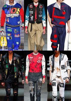 c1e3a7b93622 Menswear Spring Summer 2016 Catwalk Print   Pattern Trend Highlights Part 2
