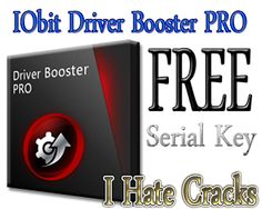 IObit Driver Booster PRO Free Download With 6 Months Serial Key