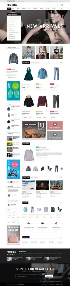 OutLine is Premium Responsive WooCommerce Theme Best For #Supermarket Electronic #Fashion Sport Blog Magazine #website. Download Now!