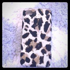 J Crew iPhone 4S Phone Case J Crew Leopard iPhone 4S Case. Great condition! J. Crew Accessories Phone Cases