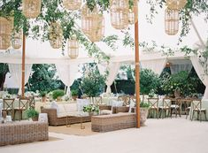 There Was Only One of This Bride's Dream Floral Dress Left in the World – and She Got It! (Style Me Pretty) Wedding Tent Decorations, Tent Wedding, Dream Wedding, Wedding Receptions, Marquee Wedding Inspiration, Wedding Design Inspiration, Wedding Ideas, Winter Wonderland Wedding Theme, Twilight Wedding