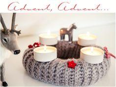 Adventskranz – Advent wreath Christmas Advent Wreath, Christmas Candle, Rustic Christmas, Christmas Time, Christmas Crafts, Christmas Decorations, Xmas, Wonderful Things, Bellisima