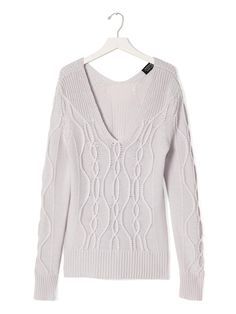Todd & Duncan Cashmere Cable Pullover