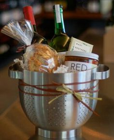 Gift / raffle basket ideas... pasta night