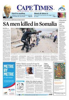 SA men killed in Somalia