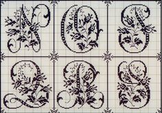 Милые сердцу штучки: рукоделие, декор и многое другое: вышитый алфавит