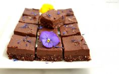 Tarte sans cuisson au cacao cru 100% végétale Cacao Cru, Sorbets, Cake, Sweet, Desserts, Food, No Bake Pies, Easter Party, Sugar