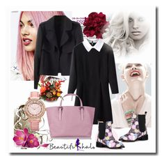 """BEAUTIFULHALO III/6"" by albinnaflower ❤ liked on Polyvore featuring moda, Lipsy, GINTA, Bottega Veneta ve bhalo"