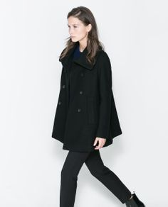 Image 3 of FLARED COAT from Zara