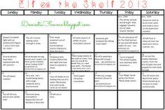 Christmas Mischief! 50 Fun Elf On The Shelf Ideas by Domestic Femme