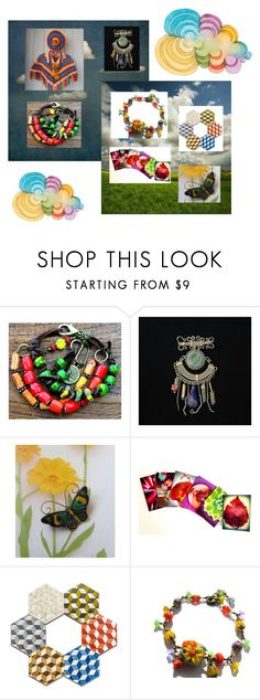 """""""Etsy Gifts Weekend"""" by fivefoot1designs ❤ liked on Polyvore featuring vintage"""