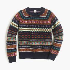 vintage LEVI fair isle stripe women sweater by orangemonkeydreams ...