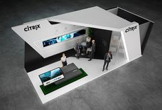 Citrix 40 sq.m., 2 sides open. Tokyo, Japan Execution time - 2 days  View project on Behance