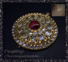 India Jewelry, Kids Jewelry, Jewelry Art, Gold Jewelry, Beaded Jewelry, Jewelery, Gold Jewellery Design, Antique Jewellery, Traditional Indian Jewellery