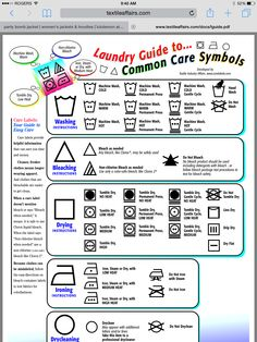 Cleaning Solutions, Cleaning Hacks, Cleaning Supplies, Laundry Care Symbols, Laundry Hacks, Laundry Rooms, Laundry Area, Clean Freak, Neat And Tidy
