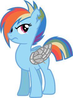Rainbow Dash after war                                                                                                                                                                                 More