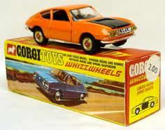 Corgi Toys Lancia Fulvia Zagato scarce variant with red spot whizzwheels