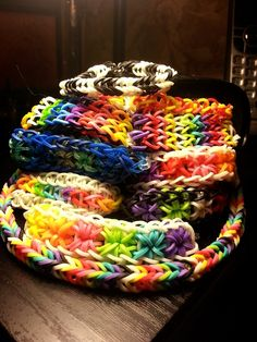 The 17 Stages Of Rainbow Loom Obsession ...funny and true.