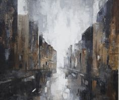 """Last kiss"" 2014, Karoline Kaaber, oil on linen, 160x180cm"