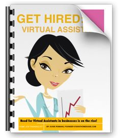 Get Hired: Virtual Assistant training guide - online job