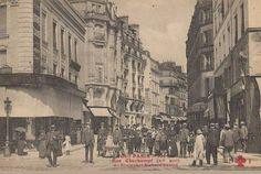 #photo Rue Oberkampf depuis le bld Richard-Lenoir vers 1900 #PEAV #Paris11 @Menilmuche @RostatAlberto @souvienstdparis
