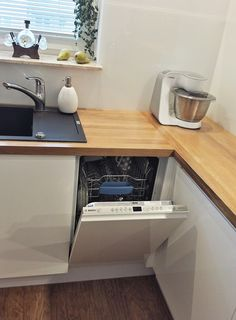 strefa zmywania w kuchni