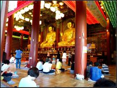 Jogyesa Temple inside