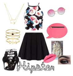 """""""Hipster """" by mary-electra on Polyvore featuring beauty, Polo Ralph Lauren, Alexander McQueen, Skinnydip and Accessorize"""