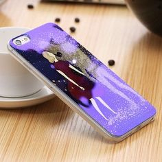 iPhone 5 5S Art Printed Back + Clear Frame Case For iPhone 5 5S Wholesale Retail