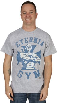 Eternia Gym He-Man Shirt