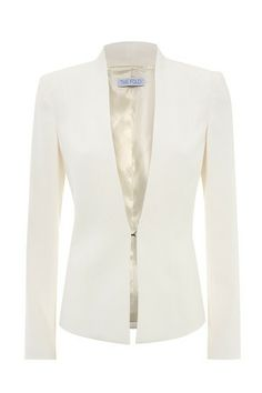 The tuxedo jacket in white from our Le Marais collection is a wardrobe classic perfect for the new season.