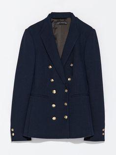Zara double breasted jacket, £79.99 #KateMiddleton