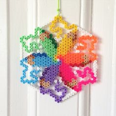 Colorful ornament hama beads by lllogco