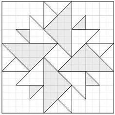 Résultat d'images pour Barn Quilt Pattern Templates Barn Quilt Designs, Barn Quilt Patterns, Patchwork Patterns, Patchwork Quilting, Pattern Blocks, Quilting Designs, Quilting Patterns, Blackwork Patterns, Patchwork Ideas
