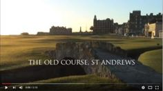Us Open, St Andrews, Video, Saints, Old Things, Golf, Magick, Wave, Polo Neck