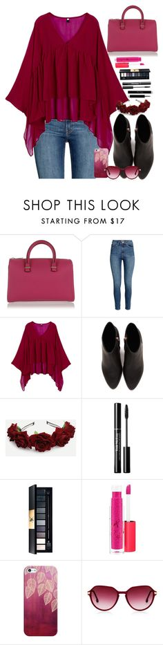 """""""Morado #1 follow"""" by marii-96-1 ❤ liked on Polyvore featuring Victoria Beckham, Alexander Wang, MAC Cosmetics, Casetify and Steven Alan"""
