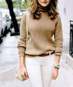 Beige-Sweater   Going Neutral